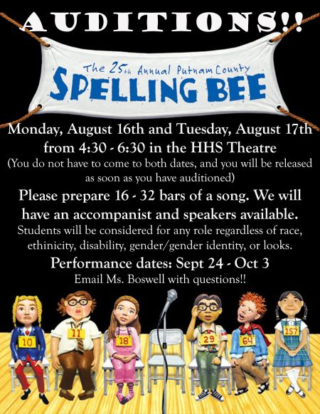 spelling bee aud_poster_final_